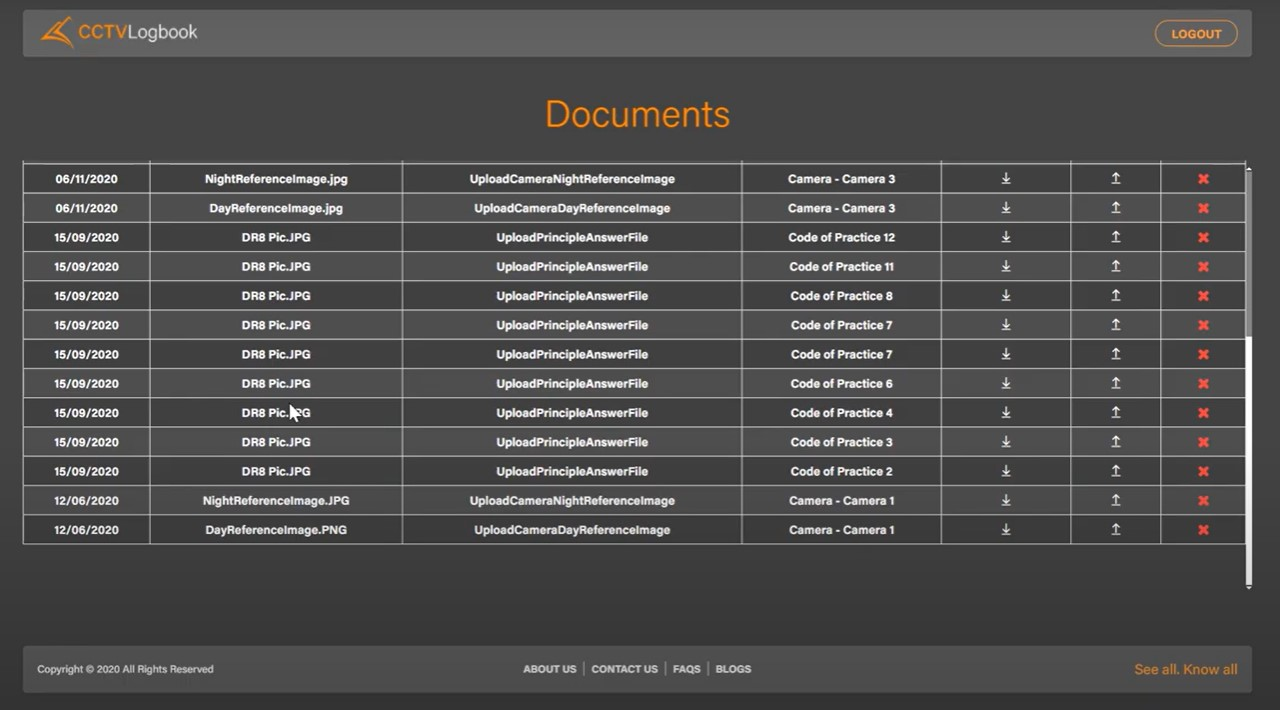 documents page